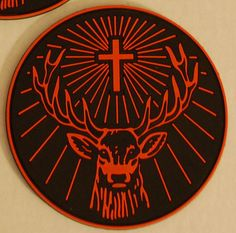 The Jagermeister deer logo. Because Cernunnos.
