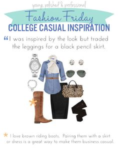 College Casual Inspires Business Casual