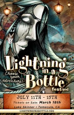 Temecula, CA Celebrating Art, Music, Performance, Sustainability and Life, Lightning in a Bottle 2013 returns to an all-new location at Lake Skinner in Temecula, California.          We are so excited to … Click flyer for more >>