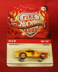 Hot Wheels FIRE RODS: OLDS 442 (#8 of 26) - 1/64 scale diecast car by Hot Wheels. $9.99. Hot Wheels diecast car