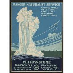 Yellowstone WPA Art