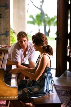 The Last Song...love this one!!!! Playing the piano after my years love this scene