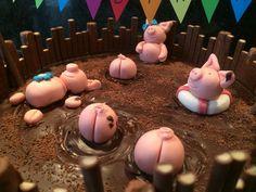 Schoko-Schweine-Torte