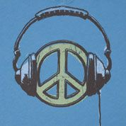 Tune in to peace.