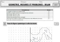 """Maths CM1 : toutes mes évaluations """"programmes 2016"""""""