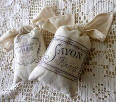 Lavender bags Provencal style
