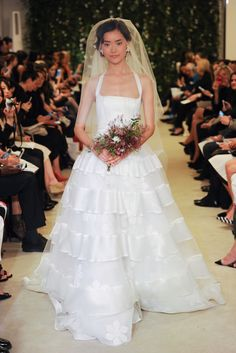 Carolina Herrera, Bridal Collection Spring 2016
