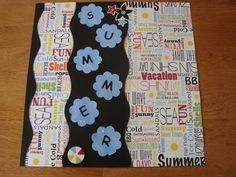 Summer time is here. Thought I would share a few of my pages to give everyone some ideas for their Summer pages. All products are from Creative Memories Additions. I can make four to five pages with 1 addition. www.mycmsite.com/esummers