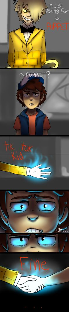 Tik+tok+kid+-+gravity+falls+comic+by+Cosmic-Crackers.deviantart.com+on+@DeviantArt