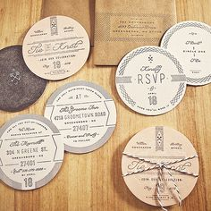 Design and Paper | Save the Date – The Wedding Season is Upon Us | http://www.designandpaper.com