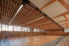 Complejo Deportivo en Châtenay-Malabry / aEa – agence Engasser   associés Sports complex in Châtenay-Malabry / aEa - agence Engasser   associés – Plataforma Arquitectura