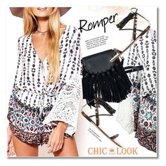 """Romper"" by svijetlana ❤ liked on Polyvore"
