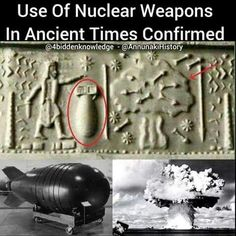 Nuclear weapons in ancient times