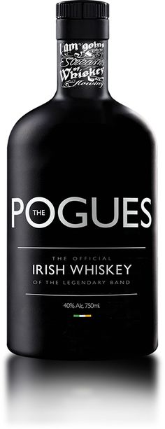 "Product Launch - West Cork Distillers The Pogues Irish whiskey ""Paddy Rock Whiskey"" Good Whiskey, Bourbon Whiskey, Scotch Whisky, Barris, Whiskey Brands, The Pogues, Schnapps, Wine And Spirits, Bottle Design"
