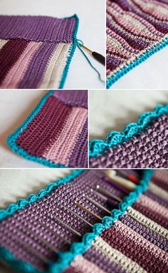 sweetheartcrochet: Häkelnadeltasche / crochet hook case