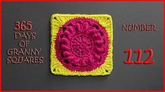 365 days of granny squares number 112 - YouTube