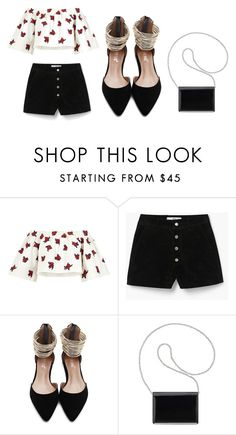 """""""Untitled #250"""" by jasmine-abdallah on Polyvore featuring House of Holland, MANGO and Nine West"""