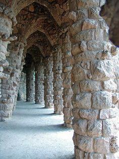 Park Guell von Antonio Gaudi in Barcelona