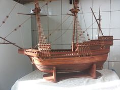 Handmade ship by HandmadeModels4You on Etsy, $450.00