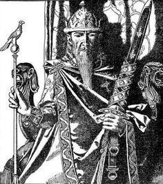 King Mark of Cornwall, illustrated by Howard Pyle, 1905--Mark of Cornwall (Latin Marcus, Cornish Margh, Welsh March, Breton Marc'h) was a king of Kernow (Cornwall) in the early 6th century. He is most famous for his appearance in Arthurian legend as the uncle of Tristan and husband of Iseult, who engage in a secret affair.