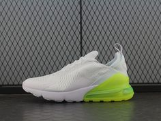 brand new 8861d 16e67 New Nike Air Max 270 White Green Women Men Shoes - Hot Hot Hot ! New Coming Nike  Air Max 270 Mesh White Green Women Men Couple Sneakers Running Shoes Hot ...