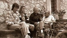 Sus padres y Candela