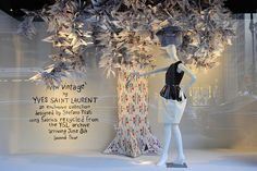What an amazing tree for a window display