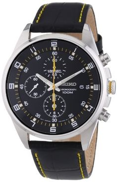 Seiko Men's SNDC89P2 Leather Synthetic Analog with Black Dial Watch Seiko http://www.amazon.ca/dp/B005HIREJK/ref=cm_sw_r_pi_dp_hkFQub0TV7WF7