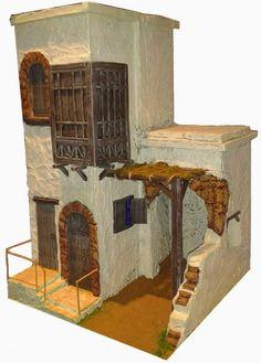 casitas para el belen