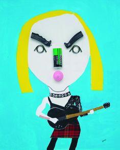 Madonna - Hanoch Piven Illustration