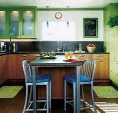 Small Kitchen Design Solutions http://www.nicespace.me/small-kitchen-design-solutions-2211/