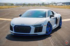 Audi R8 Sport, Audi Cars, Audi R8 Blue, Aston Martin Vanquish, Pagani Zonda, Lamborghini Veneno, Luxury Cars, Cool Cars, Race Cars