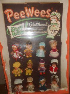 Uneeda Pee Wee Dolls Store Counter Display | eBay