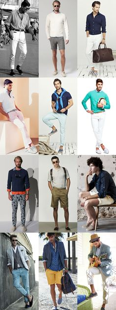 Men's 1950s-Inspired Espadrilles - Outfit Inspiration Lookbook
