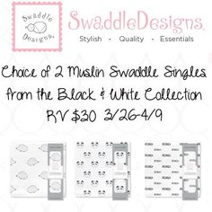 Swaddle Designs Muslin Single Swaddle Giveaway 4/9 ~ Tales From A Southern Mom