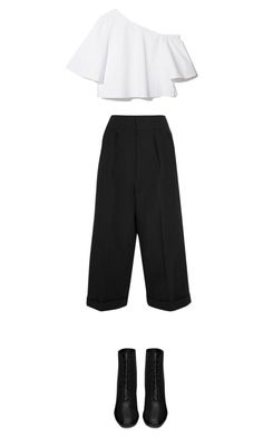 """""""*"""" by bekahxjayne on Polyvore featuring Marni and Yves Saint Laurent"""