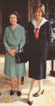 Diana & The Queen