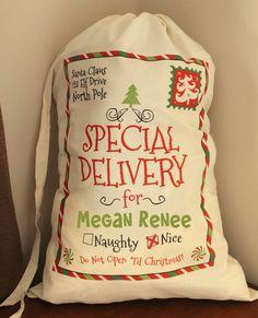 Personalized+Santa+Sack+Santa+Sacks+Christmas+by+MaleyDesigns