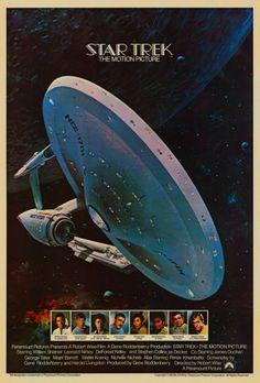 Rare 1978 Star Trek: The Motion Picture Promotional Poster By John Berkey!