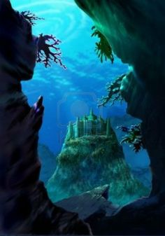Underwater castle - Google Search