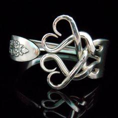 I love fork bracelets