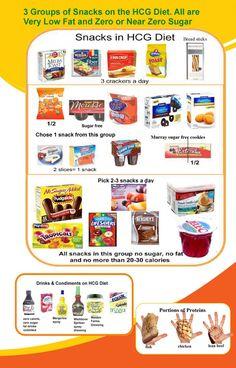 800 calorie hcg snack ideas....