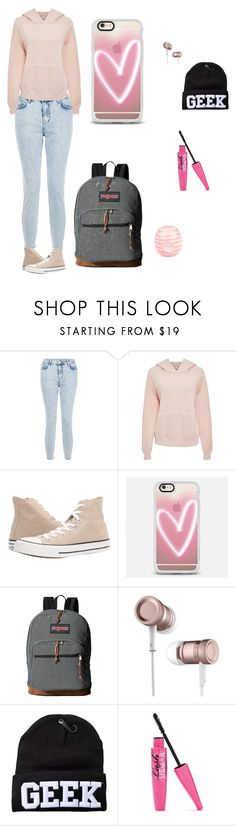 """""""Back to School 2016 #1"""" by enchantmentstyle on Polyvore featuring New Look, Bliss and Mischief, Converse, Casetify, JanSport and River Island"""