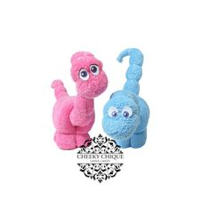 Washcloth Dinosaurs by Cheeky Chique Baby, $4.95