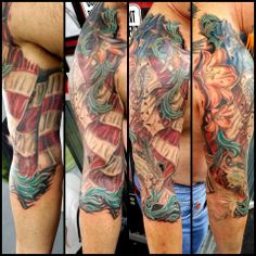 Thanks to Jay at Gorilla Tattoo