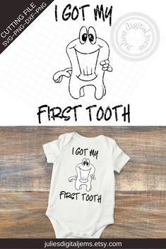 trendy baby first tooth shops Silhouette Cameo Software, It's A Boy Announcement, Handmade Baby Clothes, Handmade Gifts, Baby Shower Favors Girl, First Tooth, Baby Girl Crochet, Baby Boy Newborn, Baby Design