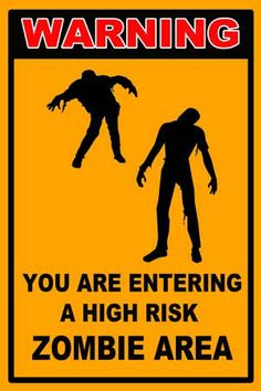 http://zombobszombiemovi... Just click the IMAGE to see more Zombie Signs on Sale