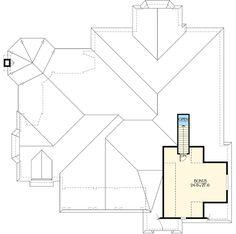 Plan 23227JD: Classic Look with Unique Floor Plan