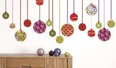 Manualidades navideñas: bolas de navidad