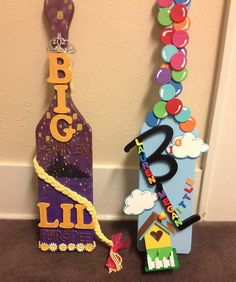 My littles made me the most amazing Disney paddles I could ever ask for!